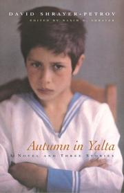 Cover of: Autumn in Yalta by David Shrayer-Petrov  (David Shraer-Petrov)