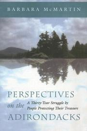 Cover of: Perspectives on the Adirondacks | Barbara McMartin