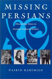 Cover of: Missing Persians