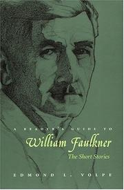A reader's guide to William Faulkner by Edmond Loris Volpe