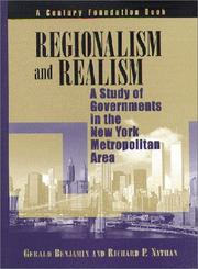 Cover of: Regionalism and Realism | Gerald Benjamin