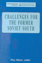 Cover of: Challenges for the Former Soviet South (Post-Soviet Business Forum Collection)