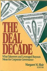Cover of: The deal decade handbook