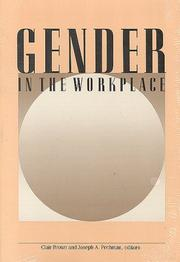 Cover of: Gender in the workplace |