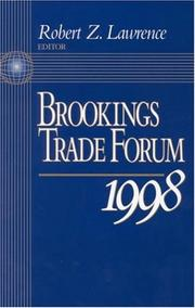 Cover of: Brookings Trade Forum