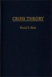 Cover of: Crisis theory
