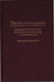 Cover of: The art of insurgency