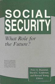 Cover of: Social security |
