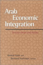 Cover of: Arab economic integration