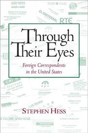 Cover of: Through Their Eyes | Stephen Hess