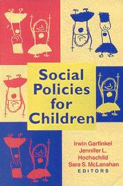 Social policies for children by
