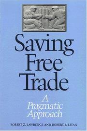 Cover of: Saving free trade
