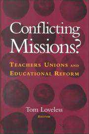 Cover of: Conflicting Missions? | Tom Loveless