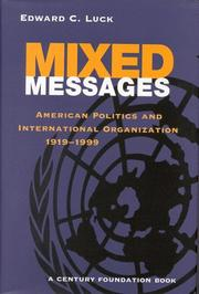 Cover of: Mixed messages