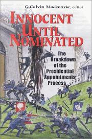 Cover of: Innocent Until Nominated | G. Calvin MacKenzie