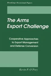 Cover of: The arms export challenge