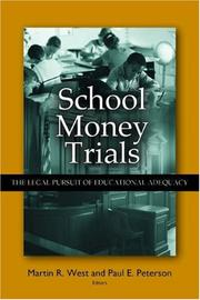 Cover of: School money trials by