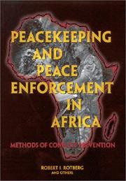 Cover of: Peacekeeping and Peace Enforcement in Africa