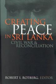 Cover of: Creating Peace in Sri Lanka