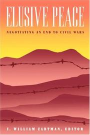 Cover of: Elusive Peace: Negotiating an End to Civil Wars