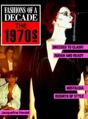 Cover of: Fashions of a decade. | Jacqueline Herald