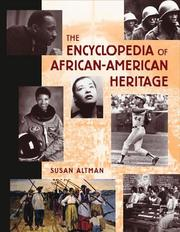 Cover of: Encyclopedia of African-American heritage