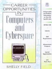 Cover of: Career Opportunities in Computers and Cyberspace (Career Opportunities)