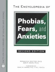 Cover of: The encyclopedia of phobias, fears, and anxieties