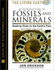 Cover of: An introduction to fossils and minerals