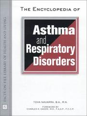 Cover of: The Encyclopedia of Asthma and Respiratory Disorders (Facts on File Library of Health and Living)