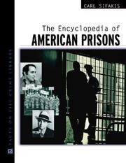 Cover of: The Encyclopedia of American Prisons (Facts on File Crime Library)