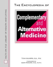 Cover of: The Encyclopedia of Complementary and Alternative Medicine (Facts on File Library of Health and Living)