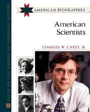 Cover of: American scientists