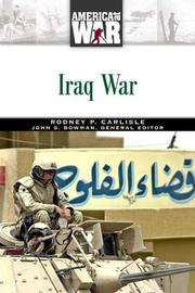 Cover of: Iraq War (America at War)