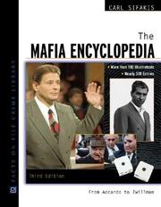Cover of: The mafia encyclopedia