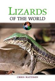 Cover of: Lizards of the world | Christopher Mattison