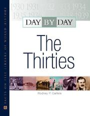 Cover of: The Thirties (Day By Day)