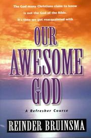 Cover of: Our awesome God