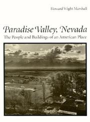 Cover of: Paradise Valley, Nevada