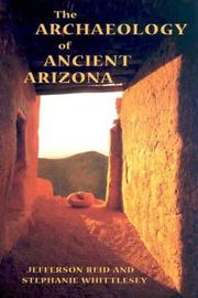 Cover of: The archaeology of ancient Arizona