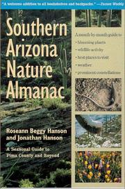 Cover of: Southern Arizona Nature Almanac
