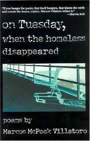 Cover of: On Tuesday, when the homeless disappeared