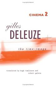 Cover of: Cinema | Gilles Deleuze