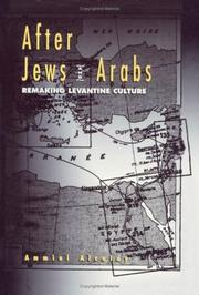 Cover of: After Jews and Arabs | Ammiel Alcalay