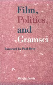 Cover of: Film, politics, and Gramsci