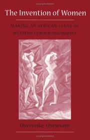 Cover of: The invention of women