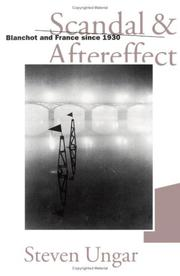 Cover of: Scandal and aftereffect