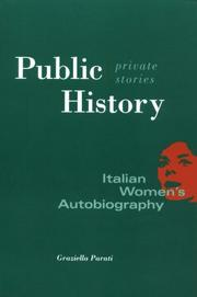 Public history, private stories by Graziella Parati