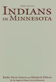 Cover of: Indians in Minnesota | Kathy Davis Graves