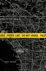 Cover of: Policing space